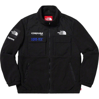 Supreme - XL Supreme North Face Expedition Fleece黒