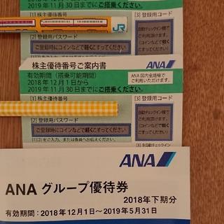 ANA 飛行機 優待券(航空券)