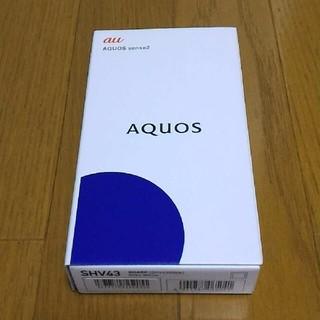 au AQUOS sense2 SHV43 SIMフリー
