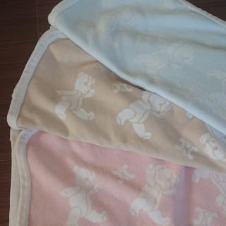 セリーヌ(celine)のベビーケット 綿毛布 セリーヌ ベージュ(毛布)