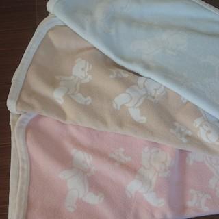 ニシカワ(西川)のセリーヌ ベビーケット綿毛布 ピンク(おくるみ/ブランケット)