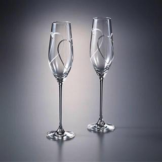 ウェッジウッド(WEDGWOOD)の【新品・未使用!箱付き!】Wedgwood シャンパンペアグラス(グラス/カップ)