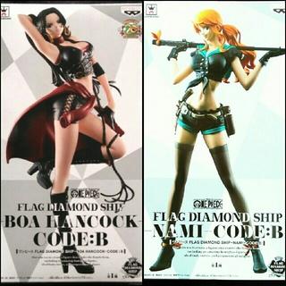 ボア・ハンコック & ナミ FLAG DIAMOND SHIP CODE:B(アニメ/ゲーム)
