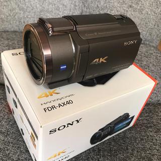 ソニー(SONY)のSONY ビデオカメラ4K(ビデオカメラ)