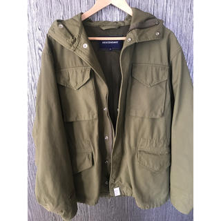 ダブルタップス(W)taps)のdescendant 17aw初売り balboa satin jacket 2(ミリタリージャケット)