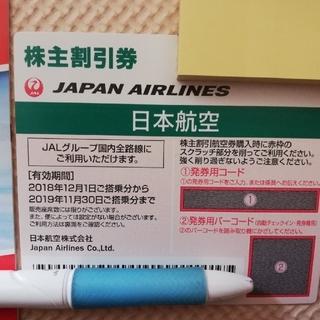 日本航空 JAL 株主優待(航空券)