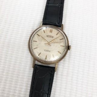 テクノス(TECHNOS)のTECHNOS  DUROFLEX 21石 アンティーク メンズ手巻き時計 稼動(腕時計(アナログ))
