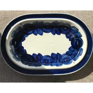アラビア(ARABIA)のアラビア / ARABIA アネモネ / Anemoneオーバルプレート (食器)