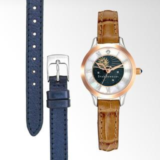スタージュエリー(STAR JEWELRY)の定価以下!2018 スタージュエリー DAY&NIGHT 腕時計 新品未使用!(腕時計)