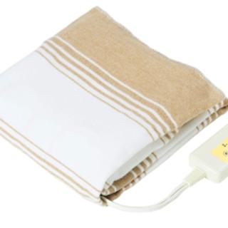 ♫とってもポカポカ♫洗える 日本製 電気毛布 敷きタイプ 130cm×80cm(電気毛布)