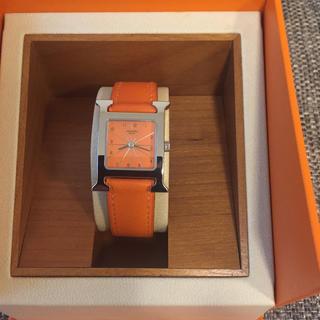 エルメス(Hermes)の美品HERMES  Hウォッチ(腕時計)