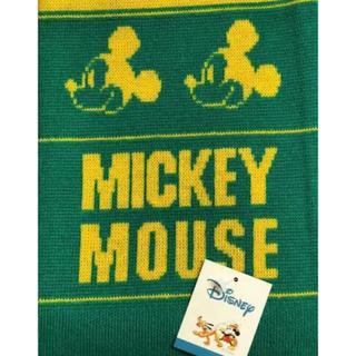ディズニー(Disney)のDisney Mickey Mouse クラブチーム風 フリンジマフラー(マフラー/ストール)