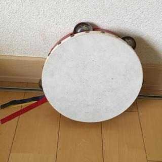 タンバリン タンブリン 楽器 ヤマヨ 赤(その他)