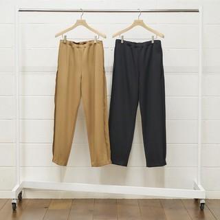 アンユーズド(UNUSED)のUNUSED 18AW wool easy pants -black- 1(スラックス)