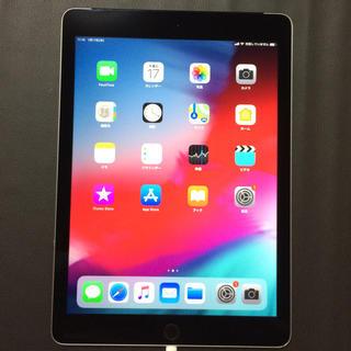 iPhone - 美品 AU iPad Air2 wifi+セルラー 16gb MGGX2J/A