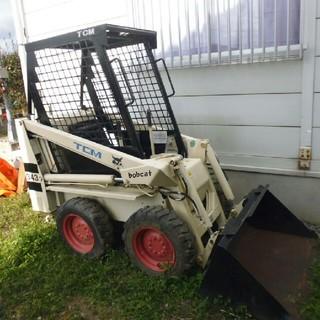 TCM bobcat 343  ボブキャット343 雪かき 農業機械(ホイール)