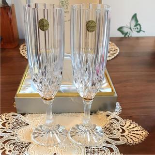 クリスタルダルク(Cristal D'Arques)のクリスタルダルク シャンパングラス(グラス/カップ)