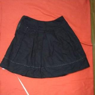 スズタン(suzutan)の黒 スカート(ひざ丈スカート)