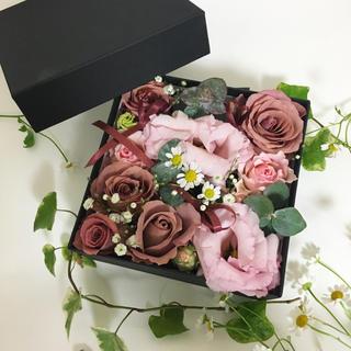 フラワーアレンジメント❣️オーダーメイド flower box M 送料込み(その他)