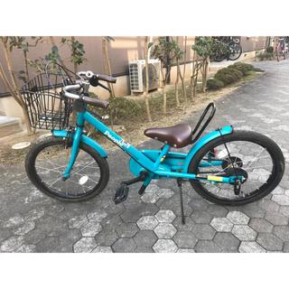自転車 子ども用 補助輪つき 18インチ People(自転車)