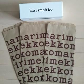 マリメッコ(marimekko)のゆうぽんさん専用‼️マリメッコ marimekko  ショップバッグのみ!(ラッピング/包装)