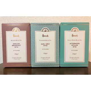 ハロッズ(Harrods)のHarrods お紅茶 50teabag 1箱  日本未入荷(茶)