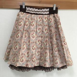 アクシーズファム(axes femme)のアクシーズファム 小花柄 スカート(ひざ丈スカート)