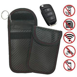 スマートキー 電波遮断ポーチ リレーアタックによる車の盗難防止 Dstper(セキュリティ)