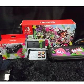 ニンテンドースイッチ(Nintendo Switch)のニンテンドースイッチ スプラトゥーン スマッシュブラザーズ(家庭用ゲーム本体)