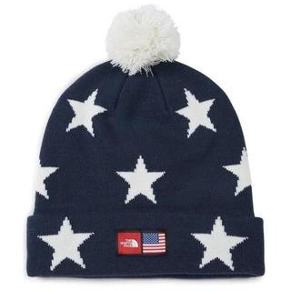 THE NORTH FACE - THE NORTH FACE ★ IC SKI BLUE STAR ニット帽