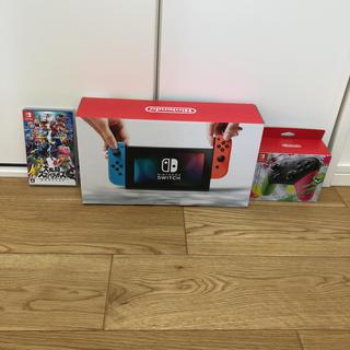 ニンテンドースイッチ(Nintendo Switch)の任天堂SWITCH+α(家庭用ゲーム本体)