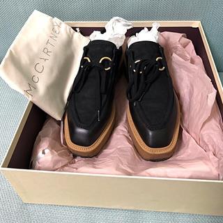 ステラマッカートニー(Stella McCartney)のStella McCartney 16AW スエード フラットホームシューズ(ローファー/革靴)