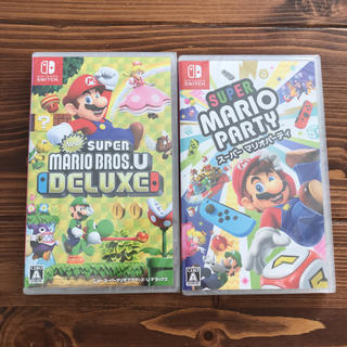 ニンテンドースイッチ(Nintendo Switch)のSwitch マリオブラザーズ マリオパーティ 2本セット(家庭用ゲームソフト)