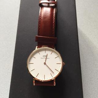 ダニエルウェリントン(Daniel Wellington)のダニエルウィリントン時計(腕時計(アナログ))
