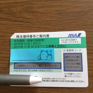 ANA(全日空)  株主優待券(*^^*)(航空券)