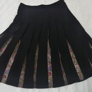 キャシャレル(cacharel)のキャシャレル  プリーツスカート(ひざ丈スカート)