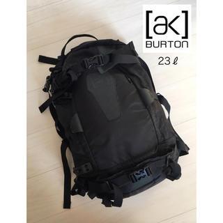 バートン(BURTON)の(最高級 鞄)BURTON AK バックパック 23L ブラック(バッグパック/リュック)