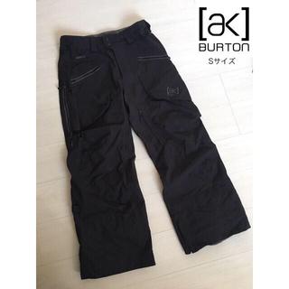 バートン(BURTON)のBURTON バートン AK GORETEX Sサイズ ブラック(ウエア/装備)