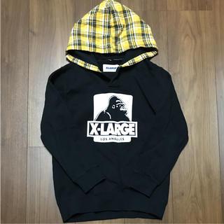 エクストララージ(XLARGE)のXLARGE KIDS長袖スウェットパーカー★6T(Tシャツ/カットソー)