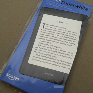 Kindle paperwhite 防水機能 8GB 1台(電子ブックリーダー)