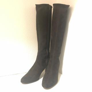 マリーファム(Marie femme)のRikanin様専用◆【美品】マリーファム スウェードブーツ 23.5cmEE(ブーツ)