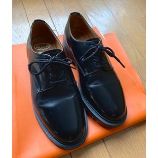 ドクターマーチン(Dr.Martens)の【seed様専用】SOLOVAIR Black 4 Eye shoe UK7(ドレス/ビジネス)