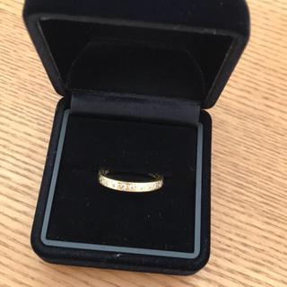 タサキ(TASAKI)の値下げ!タサキ k18 ダイヤマモンドリング(リング(指輪))