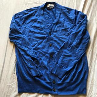 ジョンスメドレー(JOHN SMEDLEY)のイタリア製ウール使用エディフィスニットカーディガンMサイズ(カーディガン)