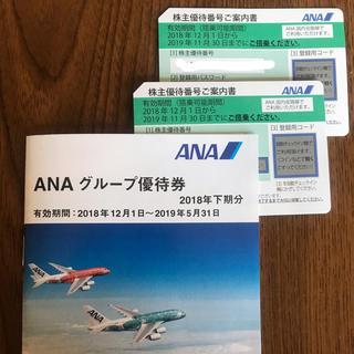 エーエヌエー(ゼンニッポンクウユ)(ANA(全日本空輸))のANA優待券(航空券)