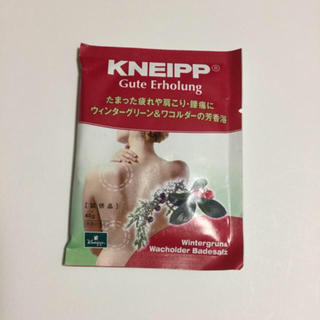 クナイプ(Kneipp)のクナイプ バスソルト(入浴剤/バスソルト)