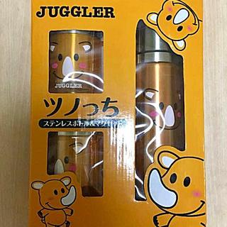 キタデンシ(北電子)のツノっち ジャグラー ステンレスボトル&マグセット JUGGLER (パチンコ/パチスロ)