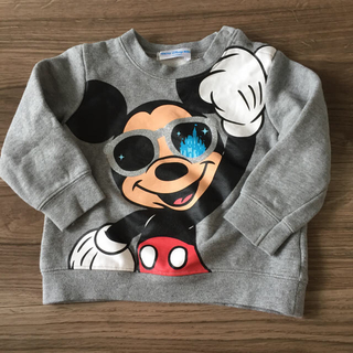 ディズニー(Disney)のミッキー トレーナー ディズニーリゾート 90(Tシャツ/カットソー)