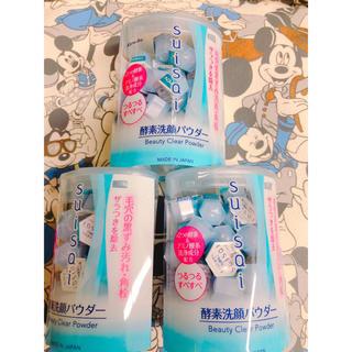 スイサイ(Suisai)のスイサイ酵素洗顔パウダー32個入り×3個  (洗顔料)
