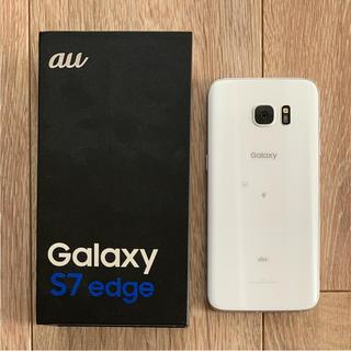ギャラクシー(galaxxxy)のGALAXY S7 edge White(スマートフォン本体)